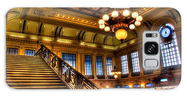 Hoboken Terminal Galaxy Case by Anthony Sacco