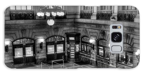 Hoboken Terminal Waiting Room Galaxy Case