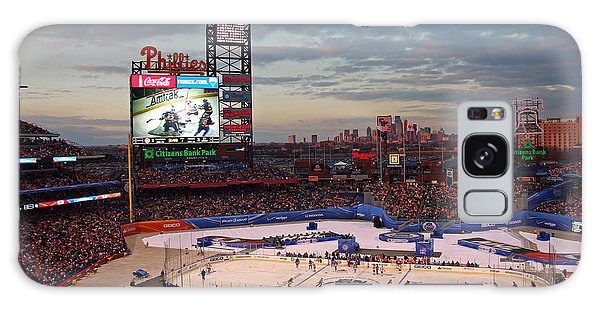 Hockey At The Ballpark Galaxy Case
