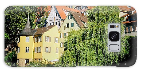 House Galaxy Case - Hoelderlin Tower In Lovely Tuebingen Germany by Matthias Hauser
