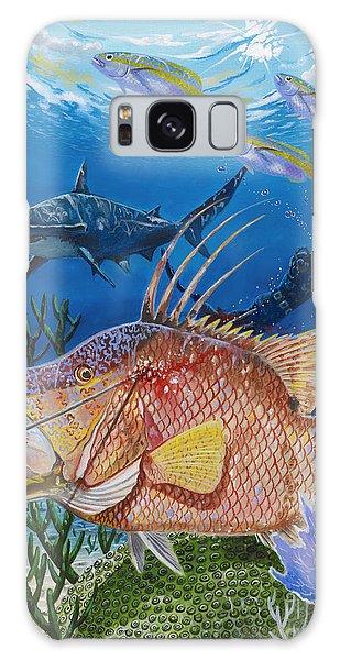 Mangrove Snapper Galaxy Case - Hog Fish Spear by Carey Chen