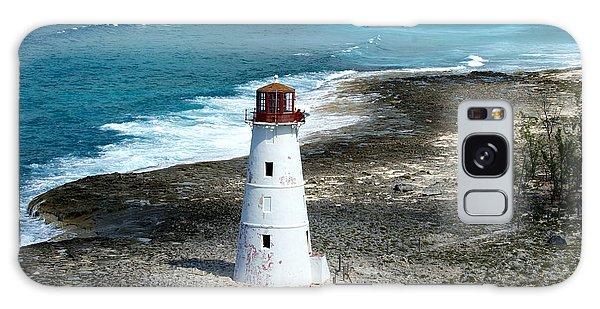 Hog Island Lighthouse Galaxy Case by Lois Lepisto
