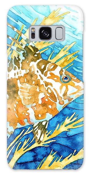 Hogfish Portrait Galaxy Case