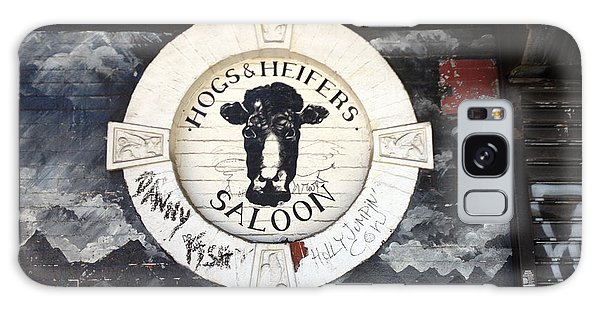 Hogs And Heifers Saloon Sign New York Galaxy Case