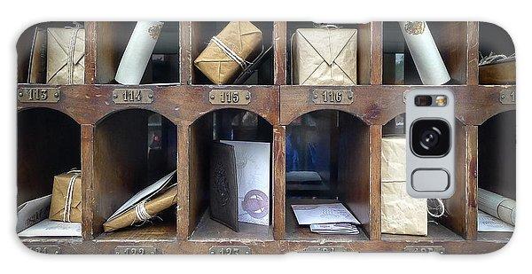 Hogsmeade Owl Post Office Galaxy Case by Edward Fielding