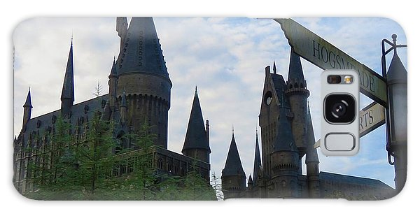 Hogwarts Castle With Signs Galaxy Case