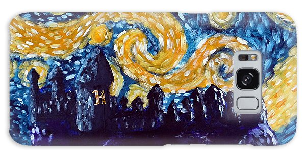 Outer Space Galaxy Case - Hogwarts Starry Night by Jera Sky
