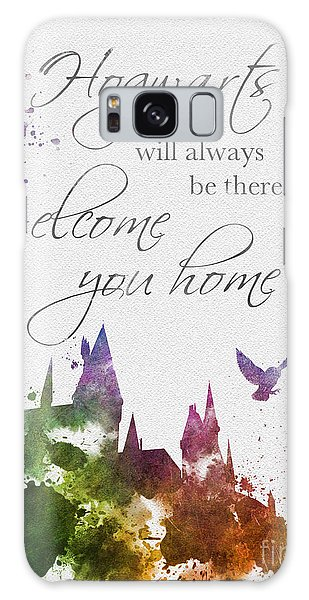 Hogwarts Will Welcome You Home Galaxy S8 Case