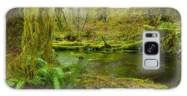 Hoh Rainforest 3 Galaxy Case by Joe Doherty
