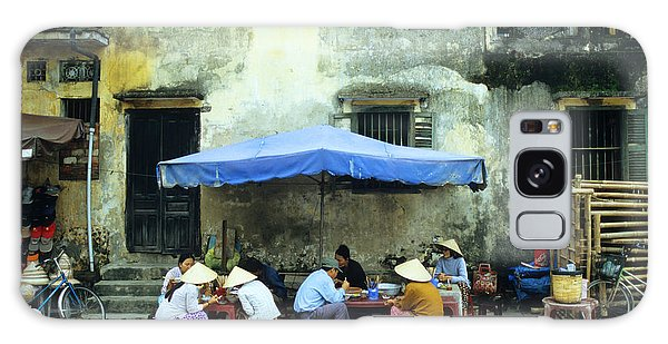 Hoi An Noodle Stall 02 Galaxy Case by Rick Piper Photography