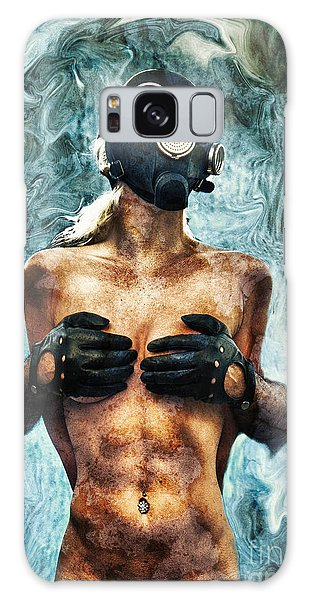 Breathe Galaxy Case - Hold Me If I M Dying 2 by Stelios Kleanthous