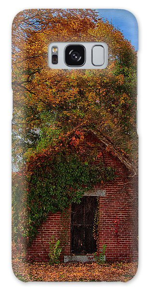 Holding Up The  Fall Colors Galaxy Case by Jeff Folger