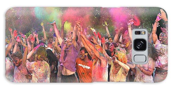 Holi Color Festival Galaxy Case