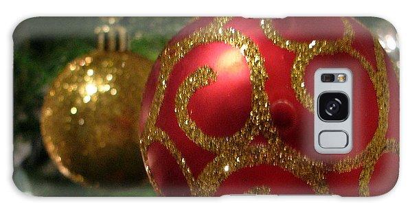 Holiday Balls Galaxy Case by Judyann Matthews