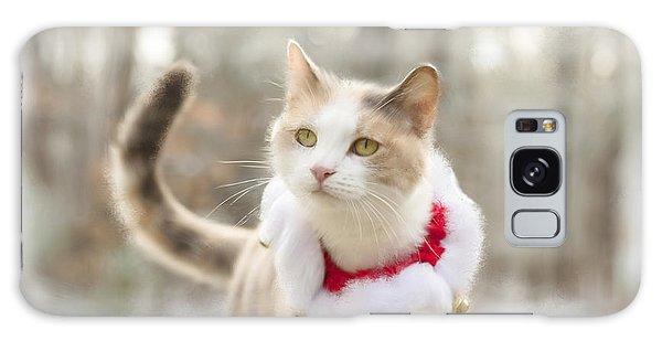 Holiday Cat Galaxy Case