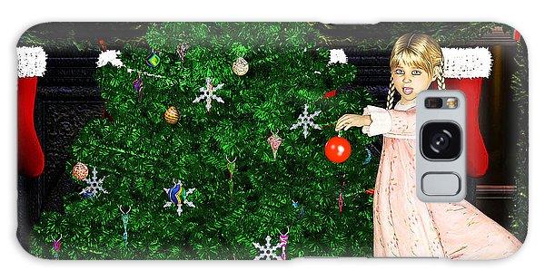 Holiday Dreams Galaxy Case