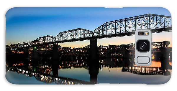 Holiday Lights Chattanooga Galaxy Case
