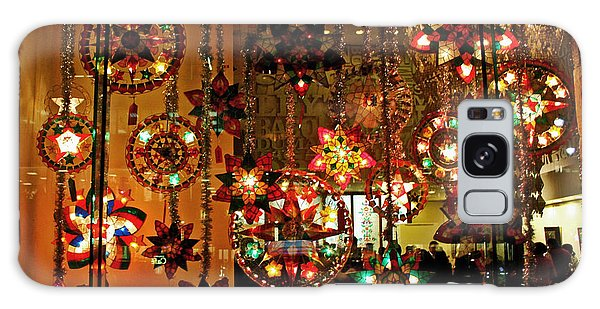 Holiday Lights Galaxy Case by Suzanne Stout