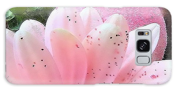 Holiday Pink Daisy  Galaxy Case