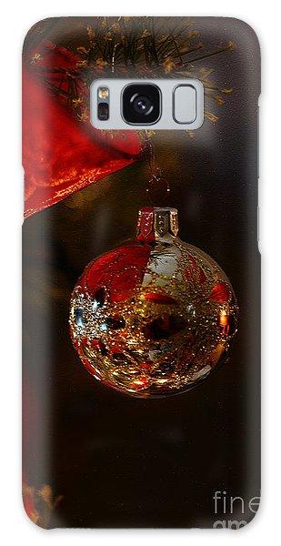 Holiday Season Galaxy Case by Linda Shafer