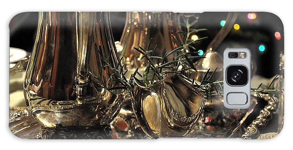 Holiday Silver  2 Galaxy Case by Tanya  Searcy