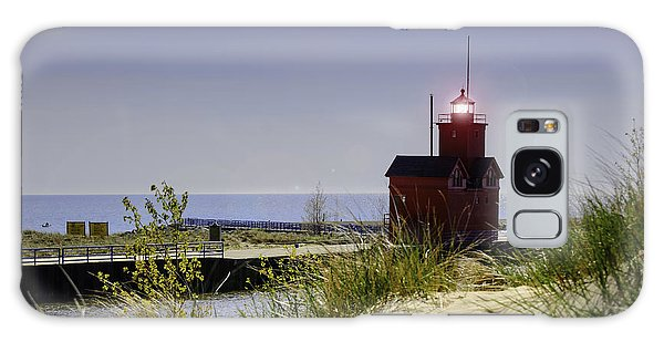 Holland Harbor Light  Galaxy Case