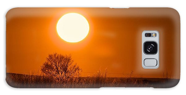 Hollister Idaho Spring Sunset Galaxy Case by Michael Rogers