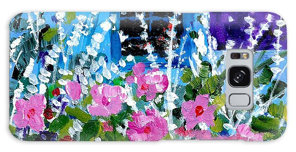 Hollyhock Alley  Galaxy Case