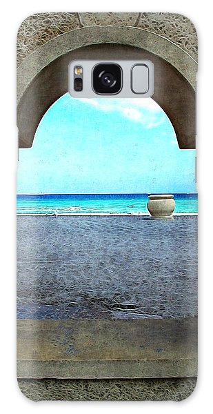 Hollywood Beach Arch Galaxy Case