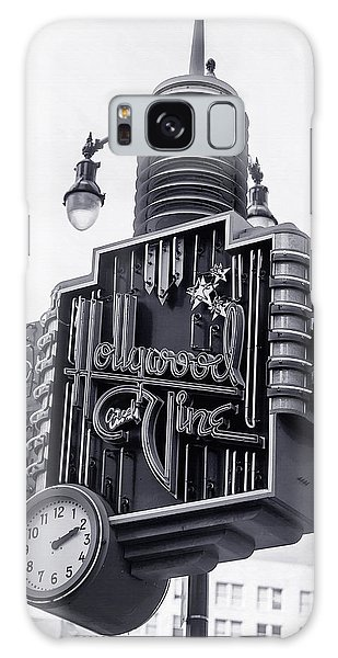 Hollywood Landmarks - Hollywood And Vine Sign Galaxy Case