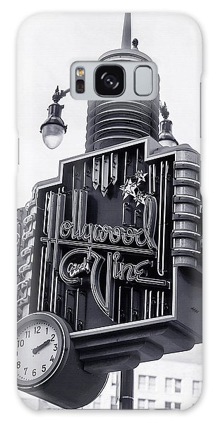Hollywood Landmarks - Hollywood And Vine Sign Galaxy Case by Art Block Collections