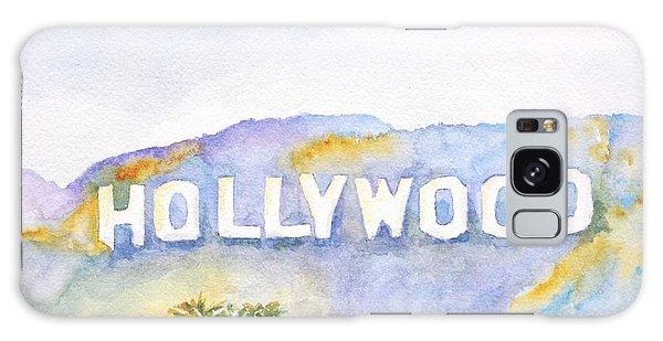 Hollywood Sign California Galaxy Case