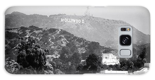 Hollywood Sign Galaxy Case by John Rizzuto