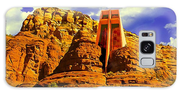Holy Cross Chapel Coconino National Forest Galaxy Case