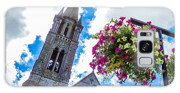 Holy Cross Church Steeple Charleville Ireland Galaxy Case