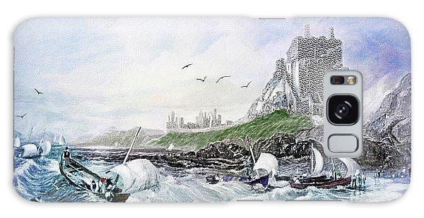 Buddhism Galaxy Case - Holy Island - Lindisfarne by Lianne Schneider