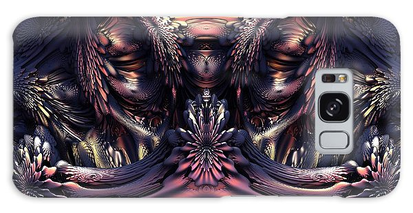 Homage To Giger Galaxy Case by Lyle Hatch
