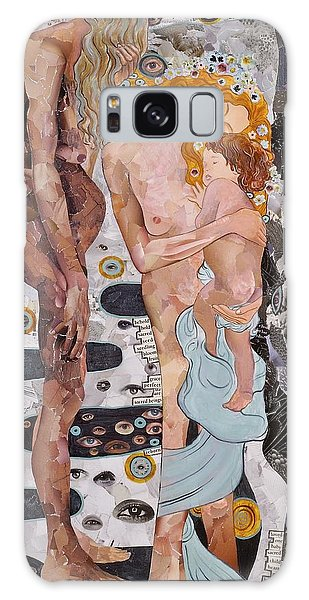 Homage To Klimt's Three Ages Of Woman Galaxy Case