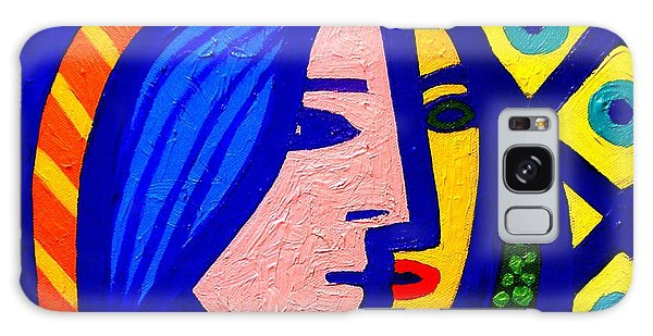 Outer Space Galaxy Case - Homage To Pablo Picasso by John  Nolan