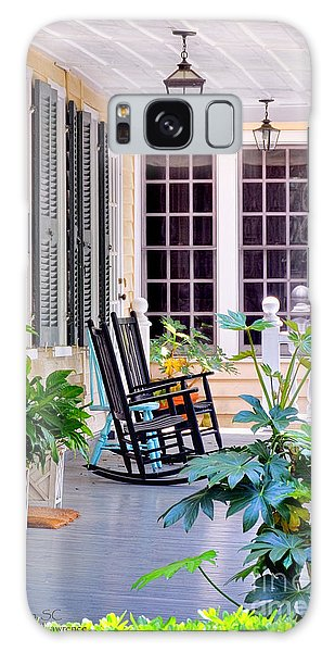 Veranda - Charleston, S C By Travel Photographer David Perry Lawrence Galaxy Case