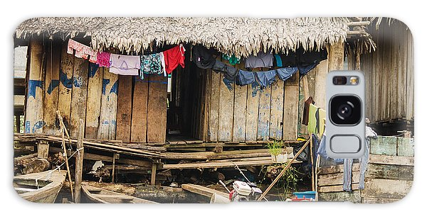 Home In Shanty Town Galaxy Case