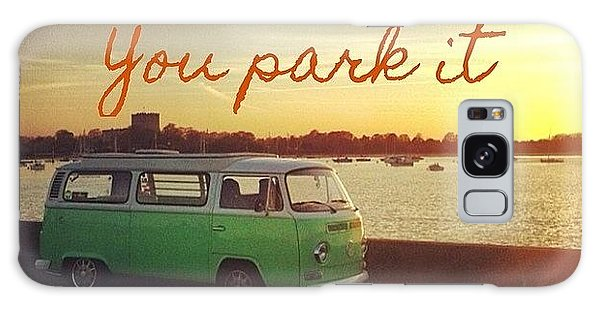 Vw Camper Galaxy Case - Home Is Where You Park It by Jimmy Lindsay