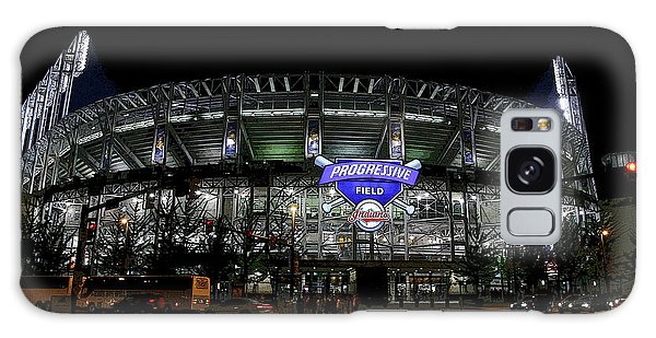 Home Of The Cleveland Indians Galaxy Case by Terri Harper