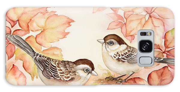 Home Sparrows Galaxy Case