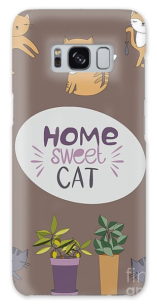 Concept Galaxy Case - Home Sweet Cat by Mio Buono