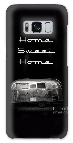 Travel Galaxy Case - Home Sweet Home Vintage Airstream by Edward Fielding