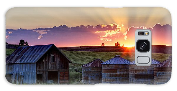 Home Town Sunset Galaxy Case
