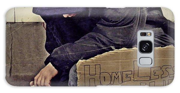 Homeless Please Help Galaxy Case