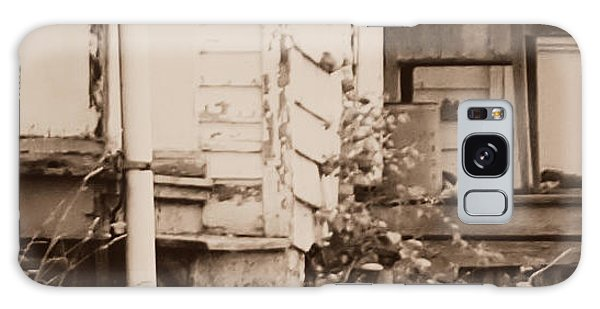 Homestead Forgotten Side Porch V3 Galaxy Case by Deborah Fay