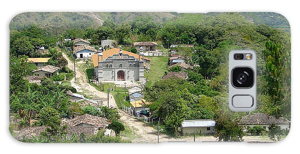 Honduras Mountain Village Galaxy Case